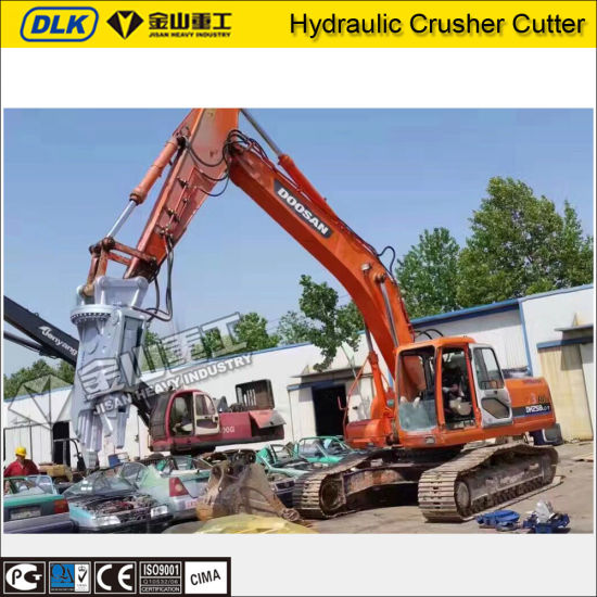 Scrap Metal Recycle Machine Hydraulic Car Dismantling Grapple for 20 Ton Excavator Cat320 pictures & photos