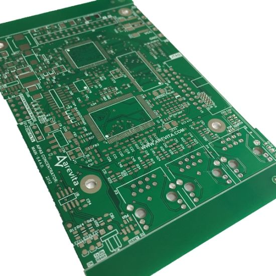 China Lead Free Hal 2 Layer PCB Circuit with Min Pads - China PCB ...