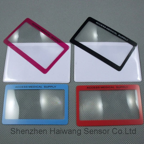 Low Price Wholesale Custom 3X Magnifying Reading Lens pictures & photos