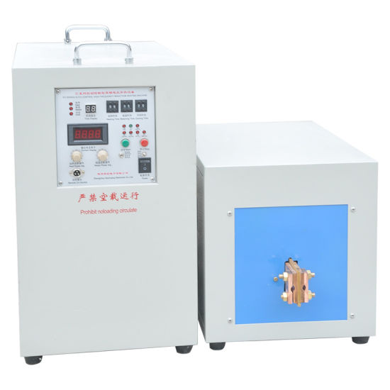 Induction Brazing Machine with Industrial Chiller (XG-30B) pictures & photos