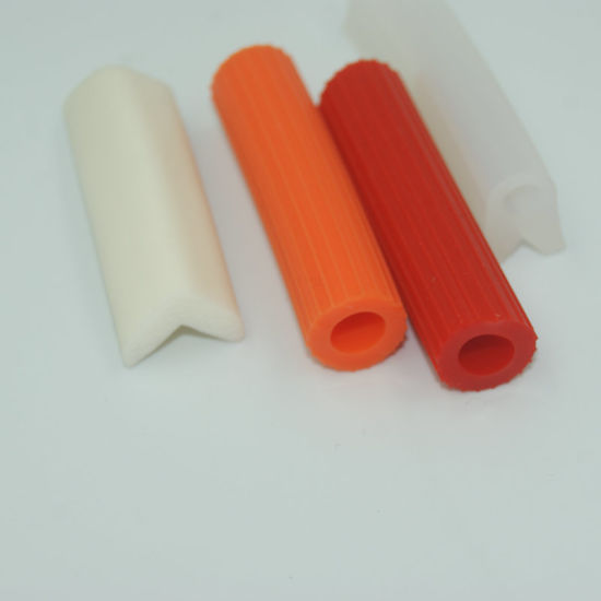Durable Flexible Extruded Silicone Rubber Edging Sealing Strip for Home Appliance