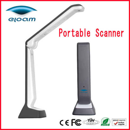 A4 Portable Document Camera S300p, Document Webcam Scanner Eloam S300p for Education, Office Industry