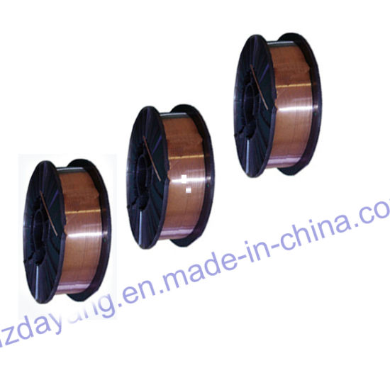 China Flux Cored Copper Coated Welding/Solder Wire Er70s-6 - China ...