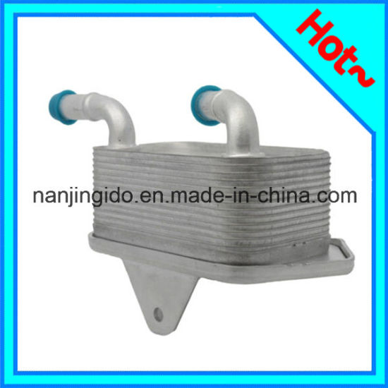 China Auto Oil Cooler For Audi A4 2005-2008 06e117021g
