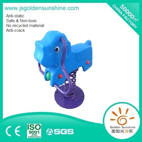 Children's Plastic Spring Rider of Elephant with CE/ISO Certificate