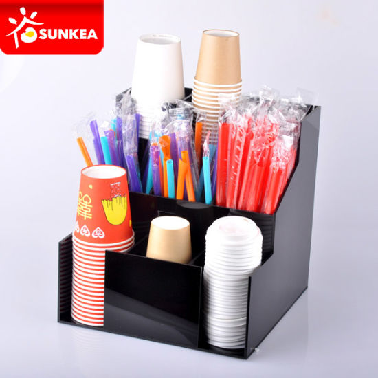 Automatic Paper Coffee Water Cone Cup Plastic Dispenser pictures & photos