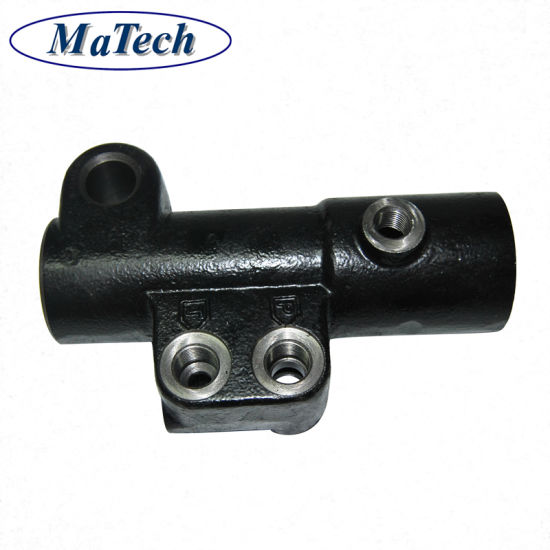 China Supplier Custom Chassis Bracket Support Ductile Casting Iron