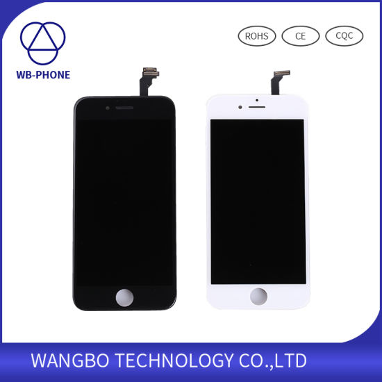 Hot Sale LCD Touch Screen for iPhone 6 LCD Display Glass pictures & photos