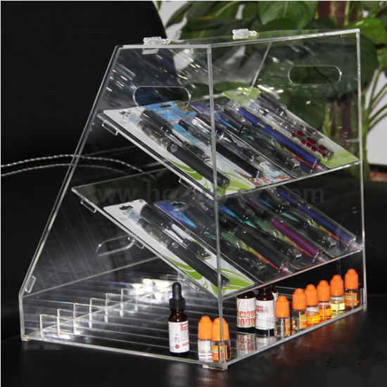 Custom Acrylic Electronic Cigarette Display Case