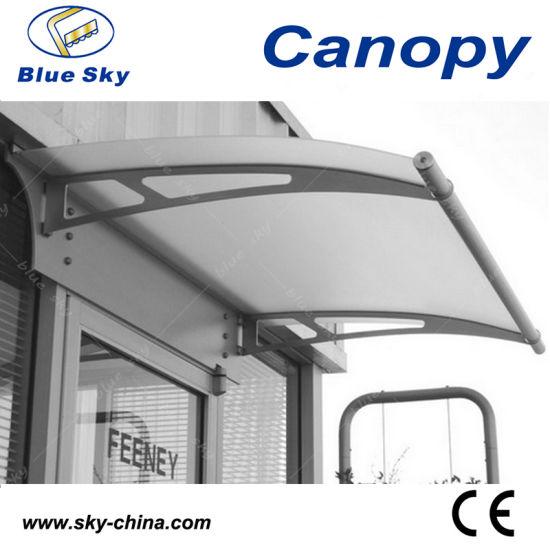China Waterproof Fiberglass Roof Stainless Steel Canopy B900 1