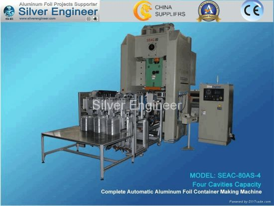 80ton Aluminum Foil Container Making Machine pictures & photos