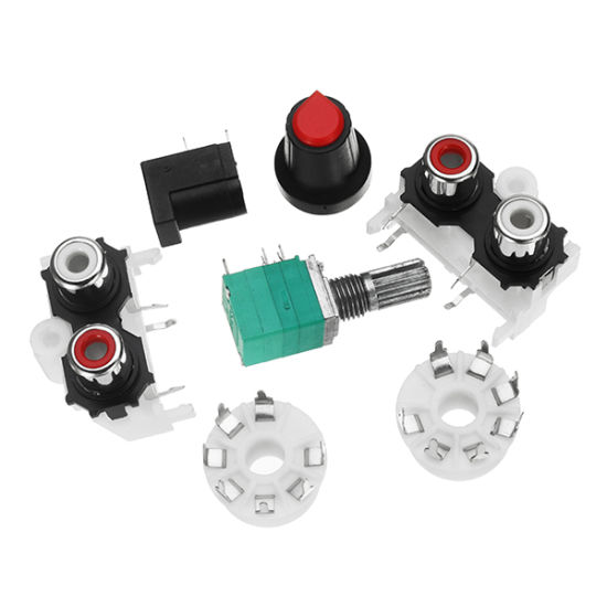 China 6j1 Pre-AMP Tube Preamplifier Amplifier Stereo AC12V