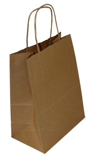 Fast Food Paper Shopping Bags pictures & photos