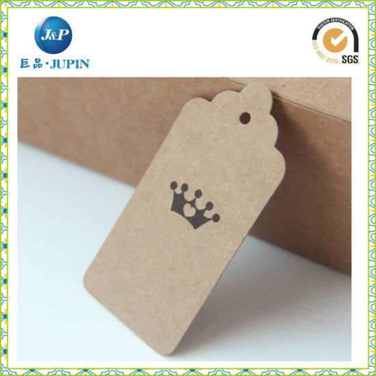 Wholesaled Customized Kraft Paper Design Hangtag (JP-HT054) pictures & photos