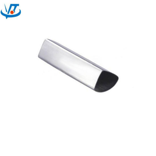 En10296-2 Special Section Decoration Pipe 304 Bright Stainless Steel Pipe pictures & photos