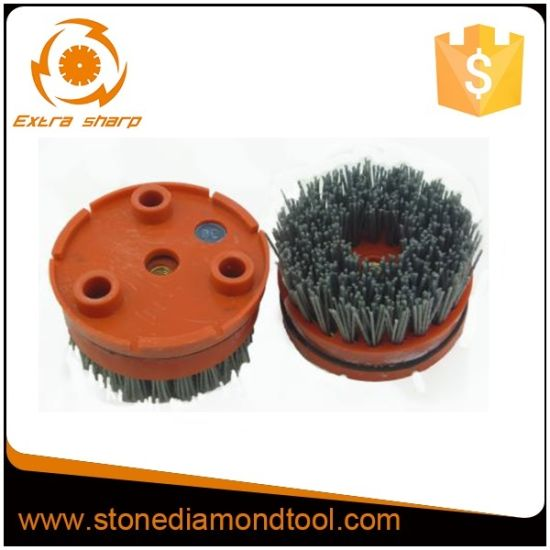 4′′ 100mm Cilicaon-Carbide Brush Cleaning Brush for Klindex pictures & photos