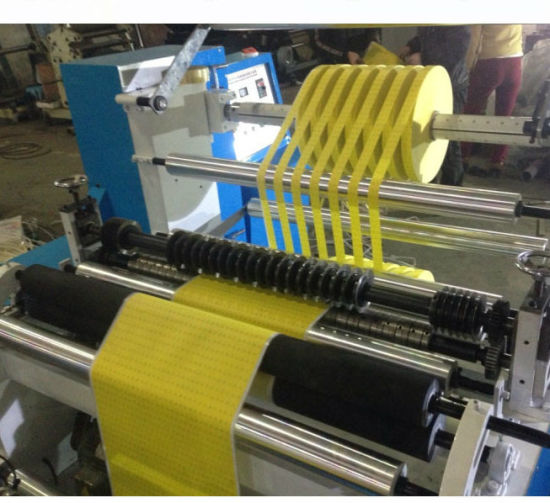 Slitting and Rewinding Machine PP Woven Fabric Slitting Machine pictures & photos