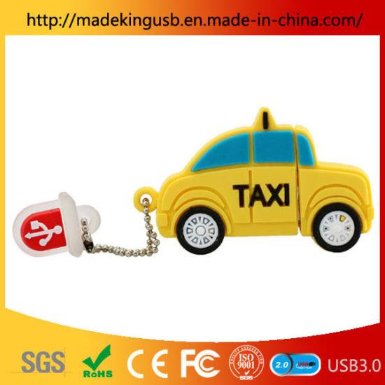 PVC Manufacturers Direct Sales Car USB Pen Drive/ Exquisite Taxi USB Flash Drive