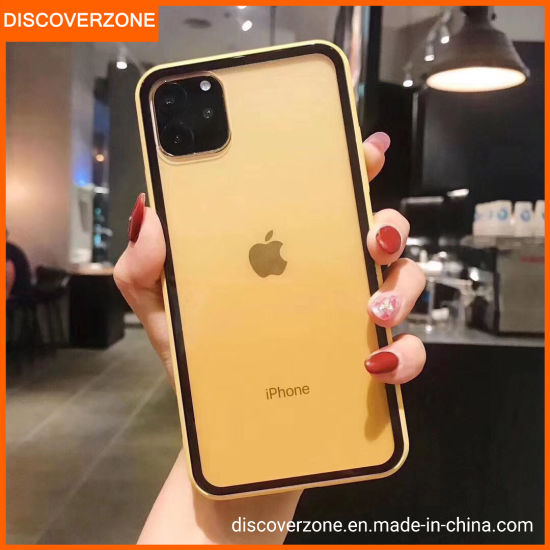 iPhone11/11PRO Trend Imitation Glass Case Acrylic for iPhone11PRO Max for TPU Phone Case
