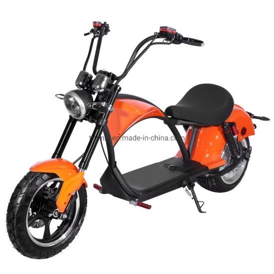 2019 Europe Stock EEC Motorcycle Citycoco Bike Fat Tire Adult City Coco Electric Scooter for Sale