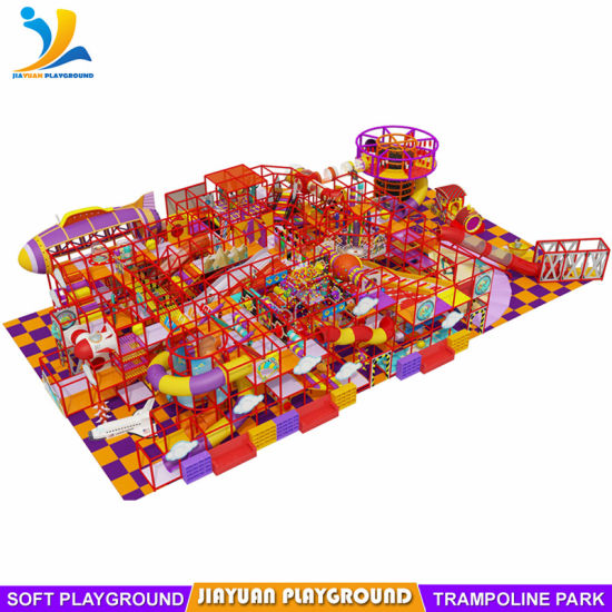 Professional Used Indoor Kids Playground with Big Fly Slide