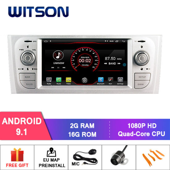 Verbazingwekkend China Witson Quad-Core Android 9.1 Car DVD GPS for FIAT Oid Punto RD-39