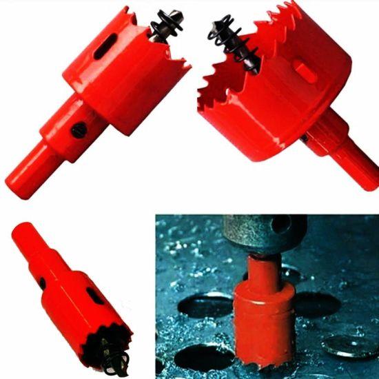 Bi metal Hole Saw 15mm-200mm Arbor Pilot Hole Saw Drill Bit Metal Wood Plastic