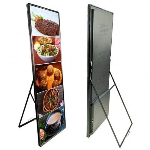 Indoor Mirror Poster LED Display Screen P2.5 Screen Displays Used for Indoor Hall
