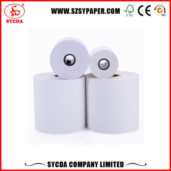 3-Primary 57mm 80mm Thermal Paper Rolls 55GSM 65GSM Thermal Cash Register Papers