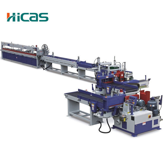 Hicas 58.75kw Finger Joint Line Machine