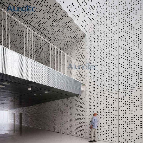 Metal Wall Panels Decorative Metal Screens CNC Laser Cut Panel