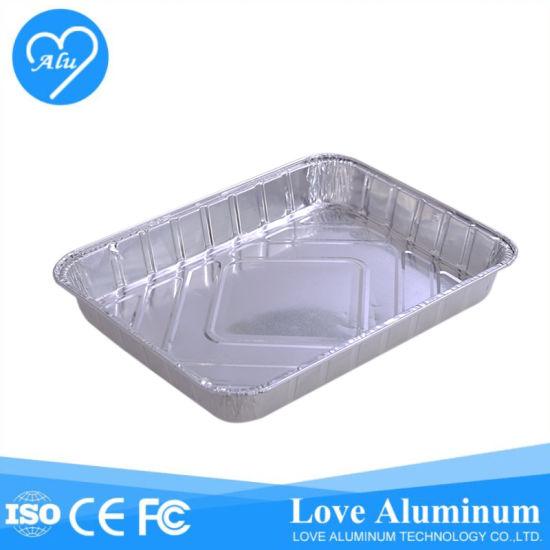 Hot Food Storage Aluminum Foil Container