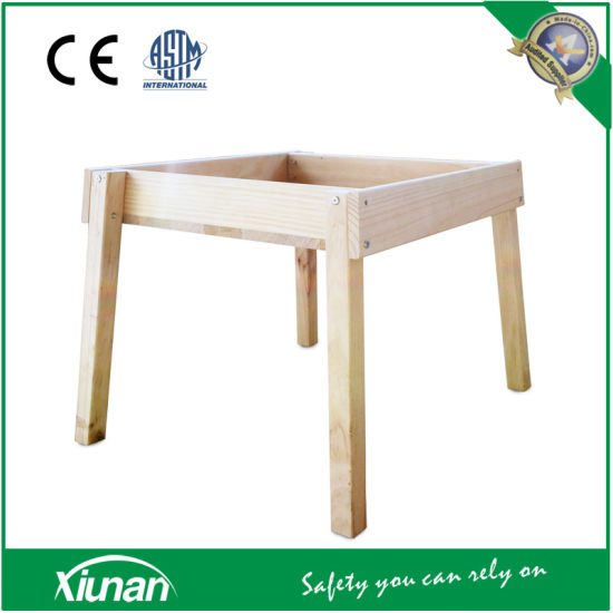 China Standing Wooden Sandpit and Sandbox for Small Children - China ...