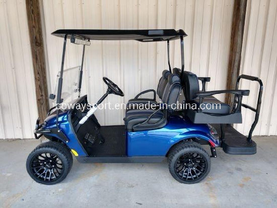New Style Warmly Welcomed Ezgo Valor - Blue Golf Cart