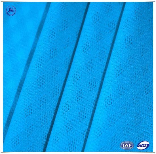 Nylon Spandex Warp Knit Jacquard Mesh Fabric