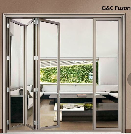 China Bi Folding Door with Unique Fold and Stack System - China Door ...