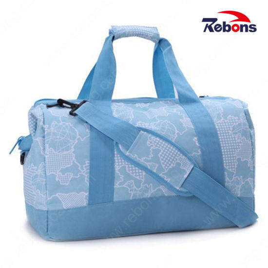 High Quality Custom Sport Contrast Color Travel Bag with Your Logo