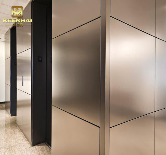 Stainless Steel Metal Cladding : China interior stainless steel metal wall panel cladding