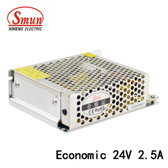China 60W 24VDC 2.5A Economical Design LED Switching Power Supply ...
