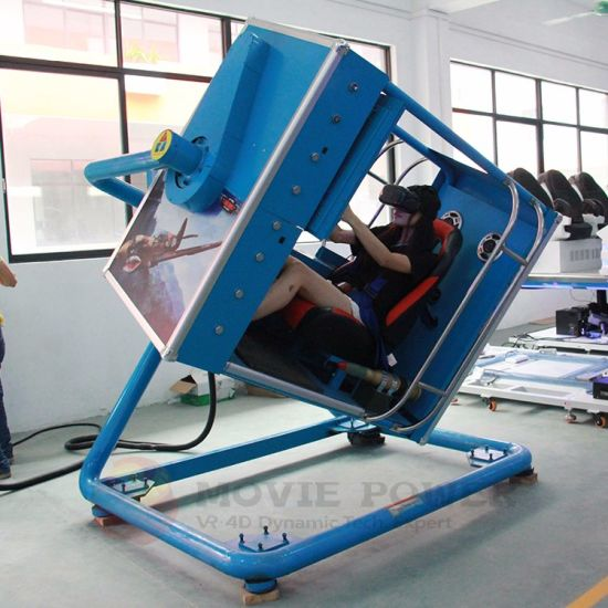 Exciting 720 Degree Game Simulator Racing Simulator Cockpit for Sale