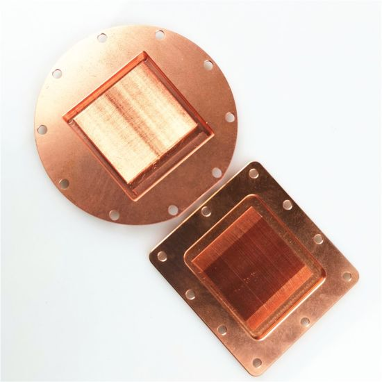 Copper Heat Sink Radiator for Computer or Laser Cutting Machine