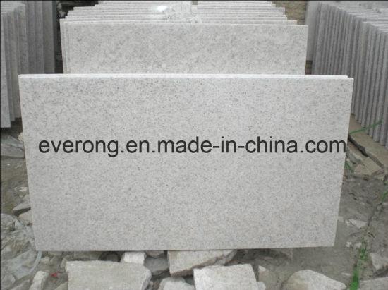 Natural Polished/Honed White Pearl Granite for Tile Slab Pavers