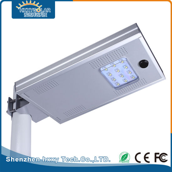 High Brightness 12W Solar LED Street Light for Road