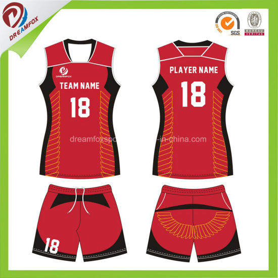 China Design Your Own Custom Cheap Sublimation Volleyball Uniform ... ffc94c7d67