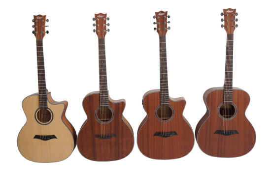 Wholesale High End Musical Instruments All Plywood Acoustic Guitar pictures & photos