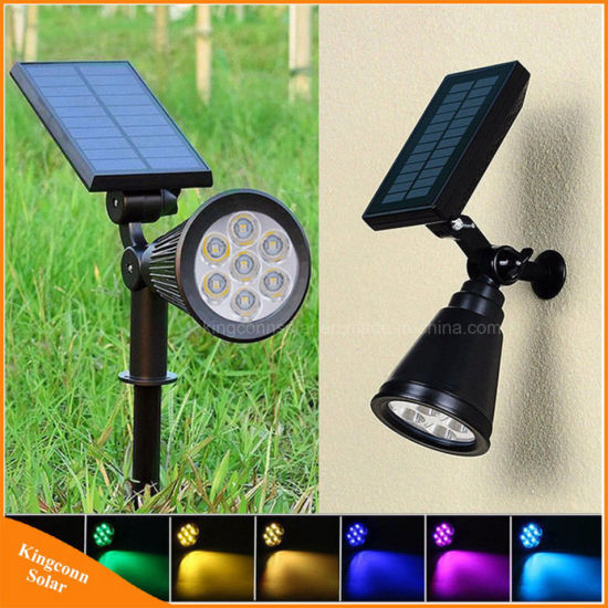 Led Outdoor Wall Lamps Waterproof Solar Panel Powered Led Round Ball Lamp Night Light Outdoor Garden Light Yard Courtyard Street Security Lights