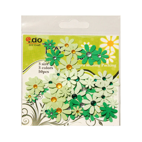 China paper flower wih gems assorted bag for card making f2 1 4 paper flower wih gems assorted bag for card making f2 1 4 mightylinksfo