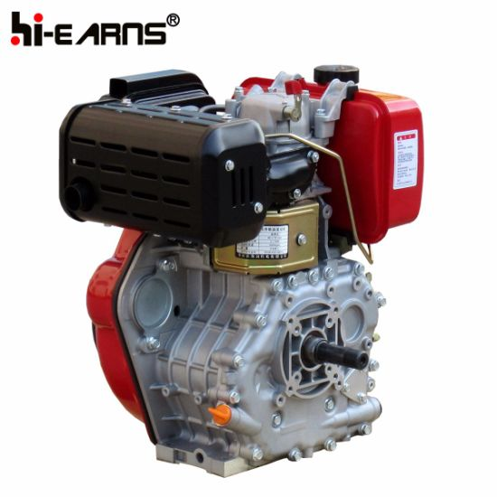 10 HP Diesel Engine with Thread Shaft Red Color (HR186FA) pictures & photos