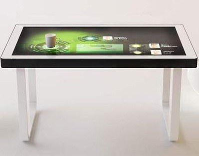 China 49 Inch Interactive Conference Smart Digital Multi Function Lcd Touch Screen Coffee Gaming Table China Lcd Display And Advertisement Equipment Price