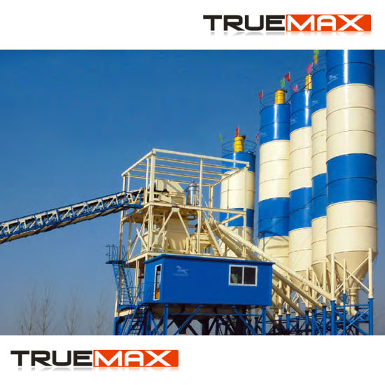 60m3/H Medium Stationary Concrete Mixing Plant pictures & photos